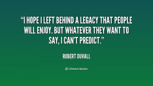 leaving a legacy quotes