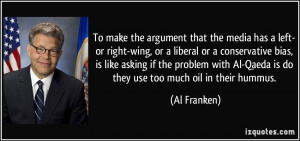the media has a left- or right-wing, or a liberal or a conservative ...