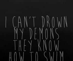 Demons know how to swim!
