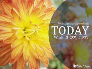 Today, I will choose JOY
