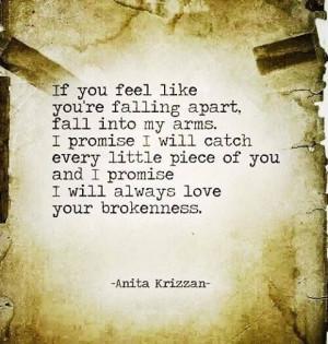 Falling apart-relationships