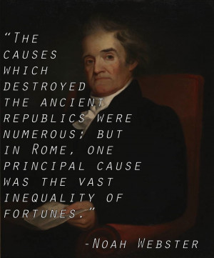 Inequality Quotes Noah Webster