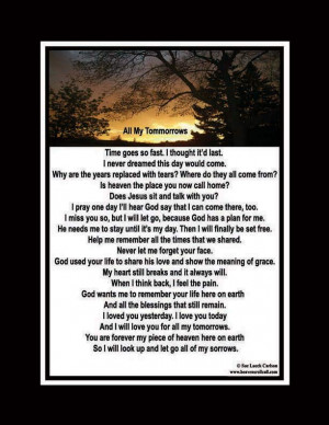 Comfort Poems When Someone Dies