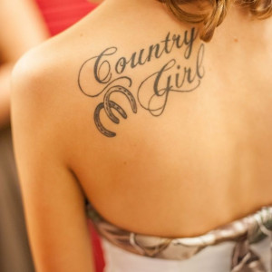 Country Girl Lovely girl Cute Tattoo. Download Desktop Backgrounds ...