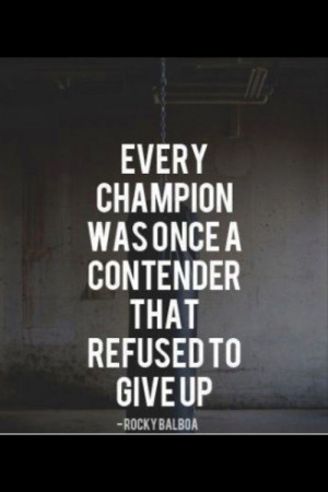 Rocky balboa, quotes, sayings, every champion, true