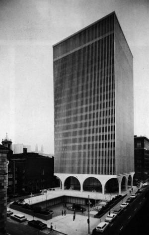 Minoru Yamasaki, I.B.M. Office Building, Seattle, Washington ...