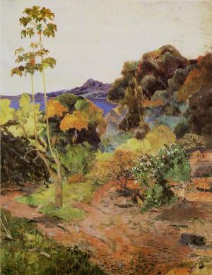 paul gauguin végétation tropicale description paul gauguin 1848 1903 ...