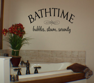 Bath Time Quotes For Babies Bathtime wall decal