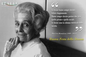 Buona #Festa della #Donna - #Rita #Levi #Montalcini