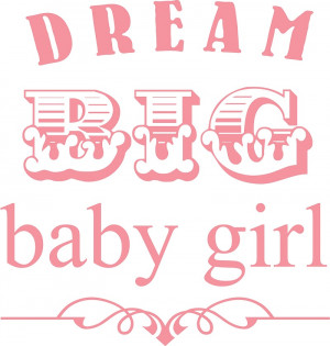 Nursery Wall Quotes - Quotes for little girls are such a cute way to ...