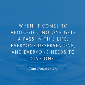 Quotes About Apologies