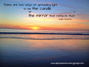 The truth is you are a light. How will you shine in 2014?