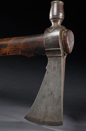 Pipe tomahawk presented to Chief Tecumseh (Shawnee, 1768–1813)