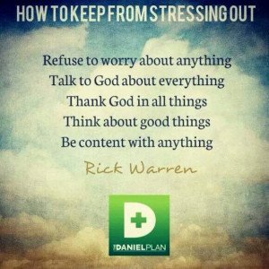 Quote by Rick Warren***