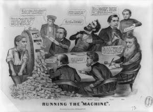 ... Edwin Stanton, William Seward, and Gideon Wells. Currier & Ives print