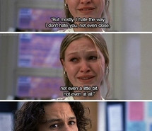 10 things i hate about you, heath ledger, movie, smile, tvm