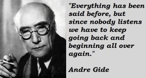 Andre Gide's Quotes