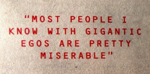 ... is not pretty. A quote from Johnny Marr, of the band The Smiths