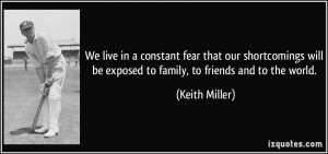 More Keith Miller Quotes