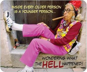 Old people always win ;)