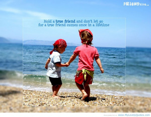 ... Kids Playing Arround The Beach Sand A Friendship Pictures With Quotes