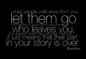 Let Them go - quotes Photo