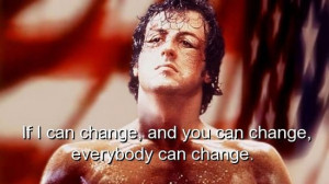 Movie, rocky balboa, quotes, sayings, famous, change