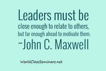 John C. Maxwell Quotes / http://worldclassseminars.net/ / by World ...
