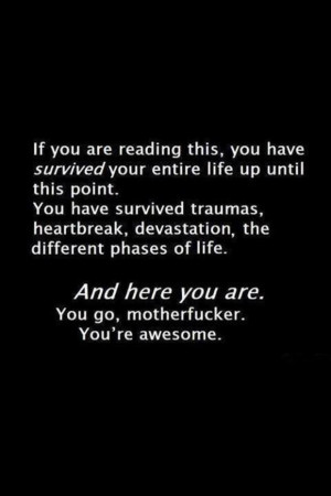 Navigation Home > Inspirational Quotes > You're Awesome!