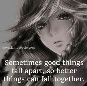 Best Friends Falling Apart Quotes