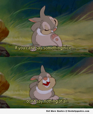 bambi, cute, disney, quotes, sayings