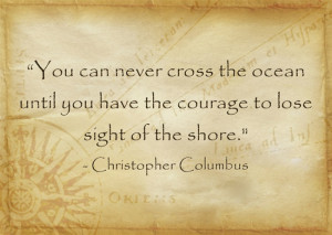 Christopher Columbus travel quotes