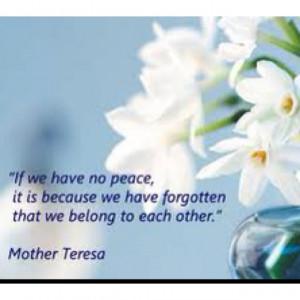 Mother Teresa's quotes motherteresa.org