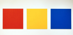 Red Yellow Blue III, Ellsworth Kelly