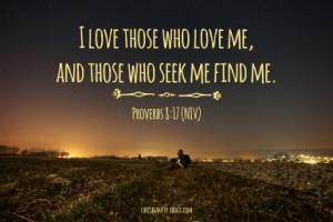Seek God - Photo Source: Pixabay / Composition: Sue Chastain