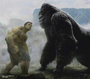 Hulk vs King Kong: Concept Art, Comic Books, Marvel Comic, King Kong ...
