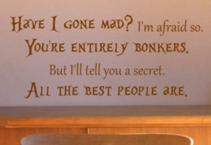 ... Mad Hatters, Wall Quotes, Tim Burton, Best Movies Quotes Of All Time