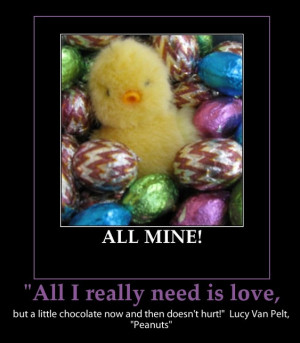 Easter - All I really need is love!!