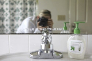 bathroom mirror quotes quotesgram 11072