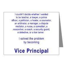 Principal Thank You Cards The World Best Assistant Note