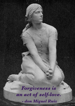 Forgiveness is an act of self-love and respect.
