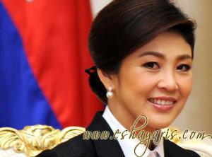 Yingluck Shinawatra-Prime Minister of Thailand
