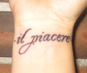 Italian Saying Tattoo Italian Sayings Tattoos