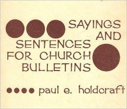 Church Bulletins