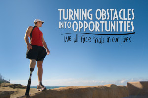Motivational Wallpaper on Opportunity : Turning Obstacles Into ...