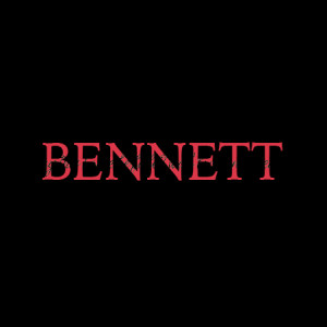 Bennett Family Name Design Wall Quotes™ Decal