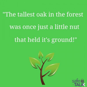 safetotalk #inspirational #quote