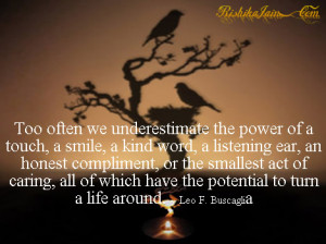 Kindness, Empathy, Compassion Quotes, Leo F. Buscaglia Quotes ...