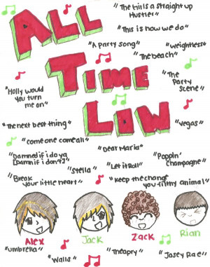 All Time Low Song Quotes...