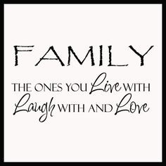 live love laugh quotes | Family Ones You Live Laugh Love | Wall Decals ...